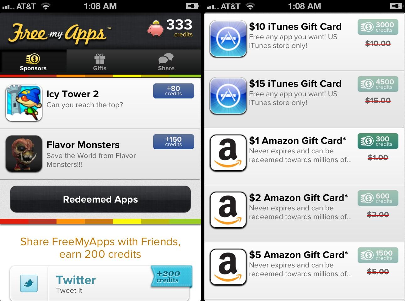 freemyapps Guadagnare scaricando app? E possibile.. Con iOS (e Android)