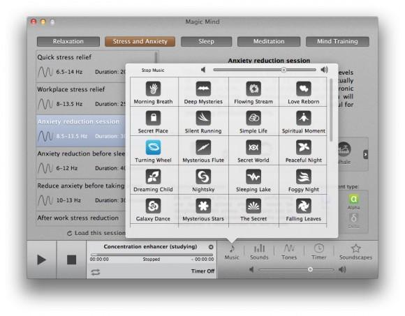 magic mind mac 4 580x453 Magic Mind, atmosfere zen per rilassarsi col Mac