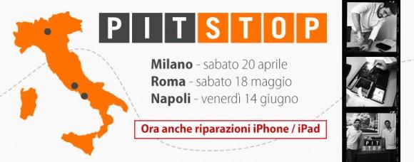 pit stop 2 580x228 BuyDifferent: nuove tappe Pit Stop. Ora anche servizio riparazione iPad/iPhone