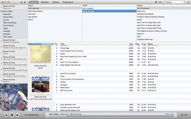 Enqueue Screenshot Ascoltare musica su Mac: 6 valide alternative ad iTunes