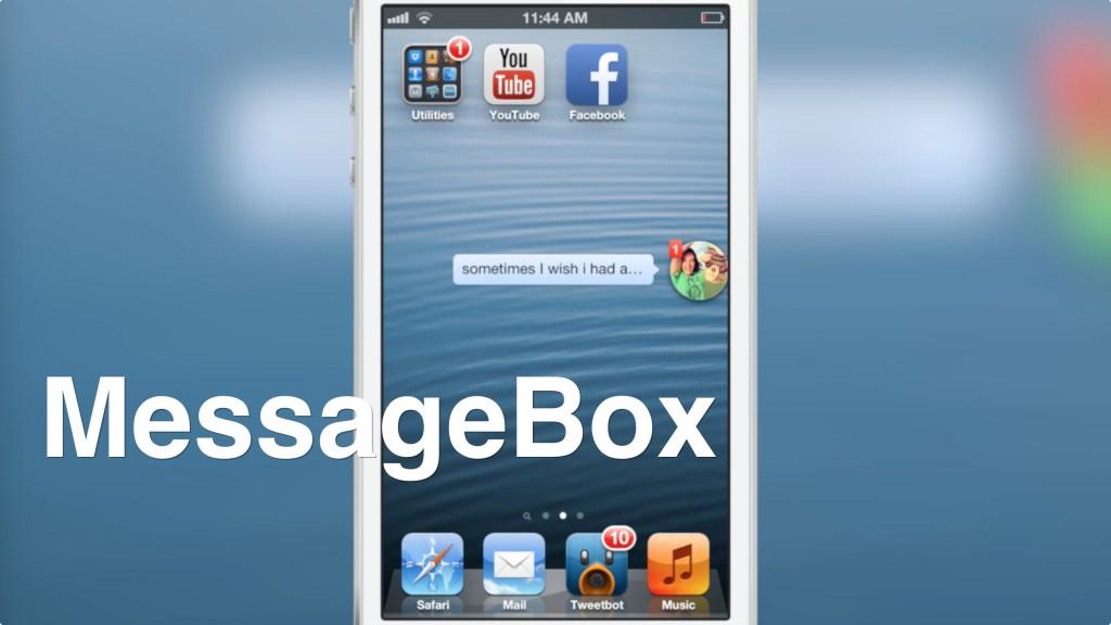 MessageBox Chat Heads Chat Heads di Facebook in primo piano su iOS: Disponibile ora il Tweak di Cydia