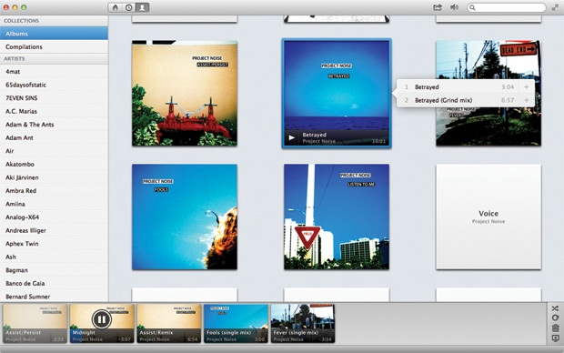 Sonora Screenshot Ascoltare musica su Mac: 6 valide alternative ad iTunes