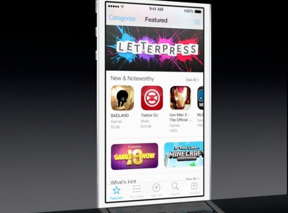 App Store in iOS 7 Apple presenta iOS 7, una carrellata delle novità più importanti