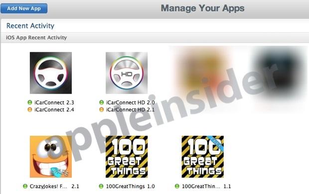 Icone Developer iOS7 Come sarà iOS 7? Piccoli indizi forse trapelano direttamente da Apple