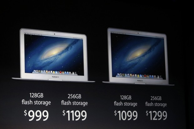 MacBook Air - Prezzo e Flash Storage