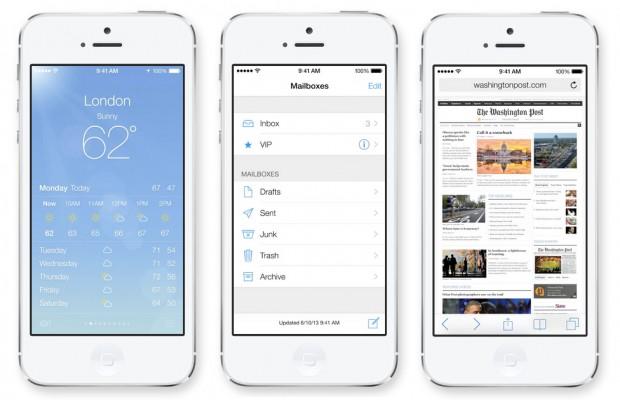 Meteo Mail e Safari in iOS 7 620x400 Apple presenta iOS 7, una carrellata delle novità più importanti