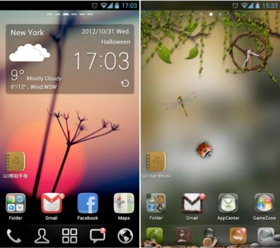 Personalizzazione con Android