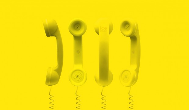 ice phone cornetta 620x361 Ice Phone: Trasforma il tuo iPhone in un telefono retrò
