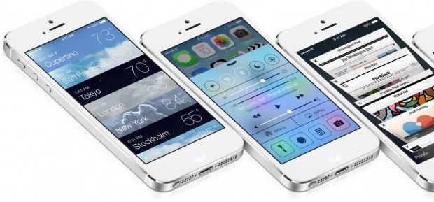 iOS 7 su iPhone 5
