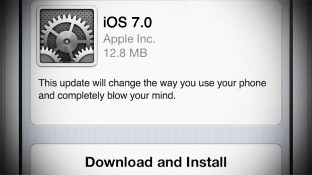 ios7 update Fake 620x348 Come sarà iOS 7? Piccoli indizi forse trapelano direttamente da Apple