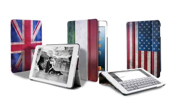 Custodie Flag Zeta Slim iPad Mini di Puro Custodia Flag Zeta Slim iPad Mini di Puro
