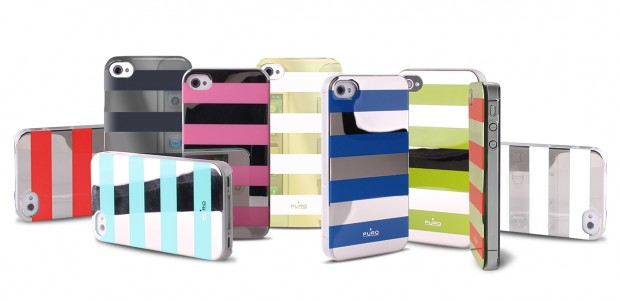 Stripe Cover Collection di Puro per iPhone 4s 620x301 Stripe Cover Collection di Puro per iPhone 4/4s e 5