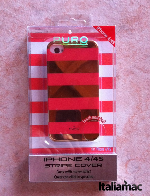 Stripe Cover Collection di Puro per iPhone 4s1 620x806 Stripe Cover Collection di Puro per iPhone 4/4s e 5