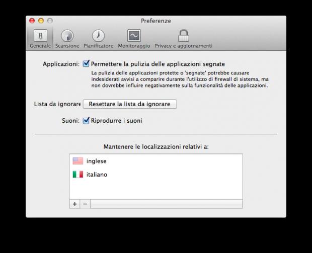 clean my mac 2 5 italiamac 620x503 Clean My Mac 2, la soluzione definitiva per la pulizia del nostro Mac