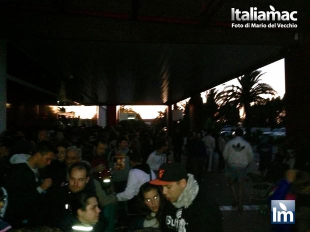 Nizza iPhone DayOne 017 620x465 Italiamac a Nizza, la nottata prima del DayOne