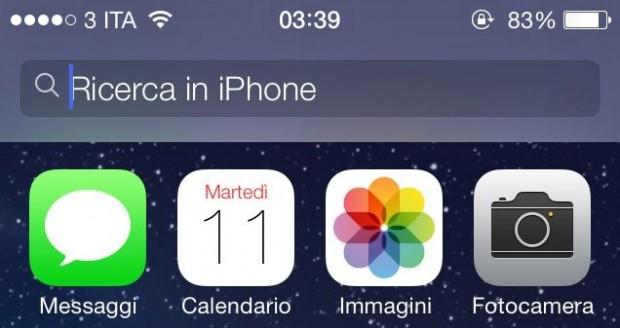 Spotlight 620x328 Benvenuto iOS7: Ecco tutte le novità e i link per il download diretto!