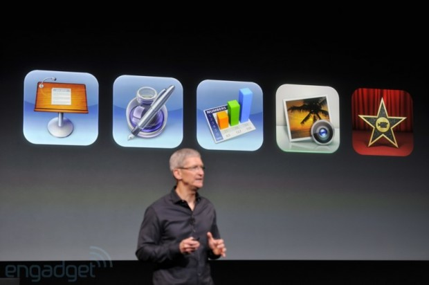 iphone2013 0051 620x412 iMovie, iPhoto, Keynote, Pages e Numbers diventano gratuiti sui nuovi iPhone