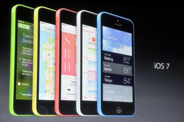 iphone2013 0085 620x412 Le prime foto del nuovo iPhone 5c, in diretta dallevento di Cupertino di oggi