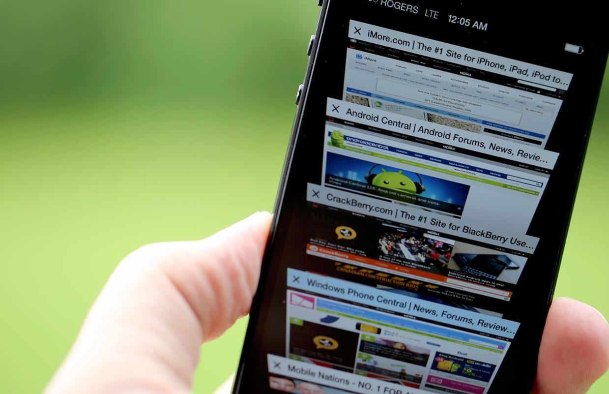 Safari su iOS 7