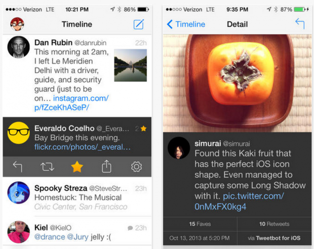 tweetbot 3 Screenshot 620x492 Tweetbot 3.1 per iPhone disponibile al download