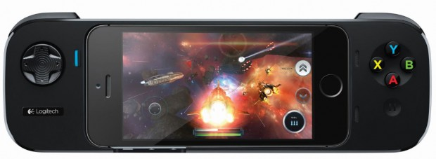 Logitech Powershell 620x227 Da Logitech il controller gaming per iPhone 5s, iPhone 5 e iPod touch [Press release]