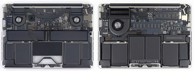 A sinistra il modello del 2012, a destra quello del 2013.