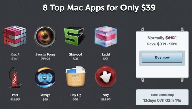 MacBundler 620x353 MacBundler: 8 App per Mac a soli 39$ (90% di sconto)