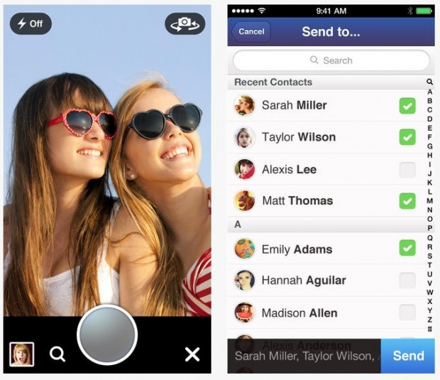 MessageMe per iOS