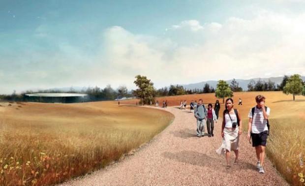 Progetto del nuovo campus Apple
