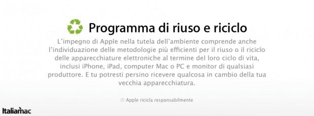 Riciclaggio 620x230 Il programma Reuse and Recycle di Apple potrebbe essere presto disponibile anche in Italia