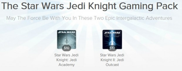The Star Wars Jedi Knight Gaming Pack