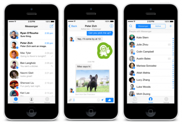 messenger 3.0 per iOS 620x424 Facebook 6.7.2 e Messenger 3.0 per iOS disponibili sullApp Store