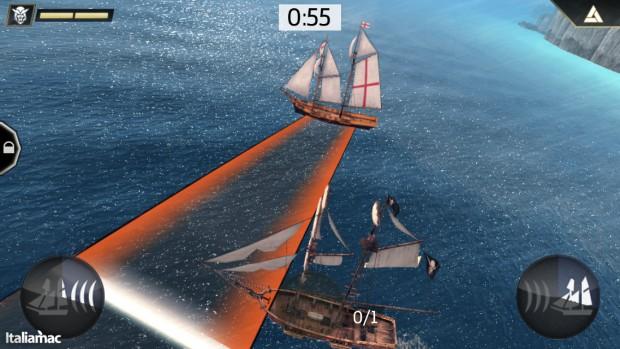 Schivare 620x349 Assassins Creed: Pirates, recensione e gameplay