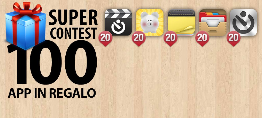 Italiamac Super Contest: 100 App iPhone in regalo!