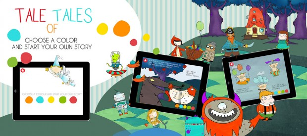 Tale of Tales 01 620x275 Tale of Tales, generatore di fiabe infinite per bimbi per iPhone e iPad