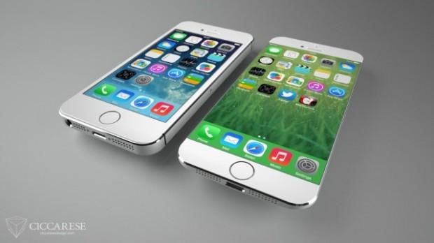 iPhone 6 B 620x348 iPhone 6, ecco il concept più realistico. Potrebbe essere così il prossimo melafonino?