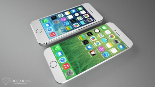 iPhone 6 D 620x348 iPhone 6, ecco il concept più realistico. Potrebbe essere così il prossimo melafonino?