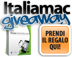 Giveaway iPhoneDataRecovery adesso Giveaway: Italiamac vi regala iPhone Data Recovery per Mac