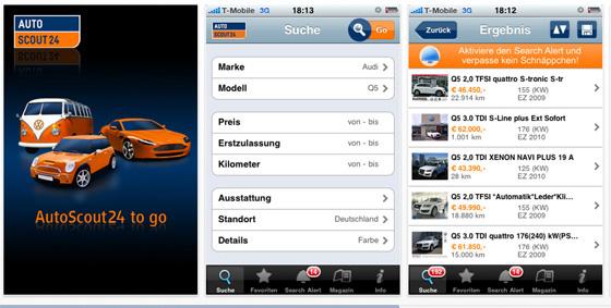 autoscout24 app Lauto si compra con liPhone, anche con la app di Autoscout24