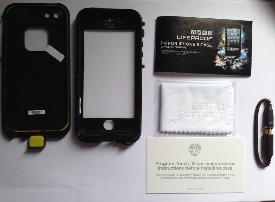 IMG 1803 LifeProof Frē: cover per iPhone a prova di... vita