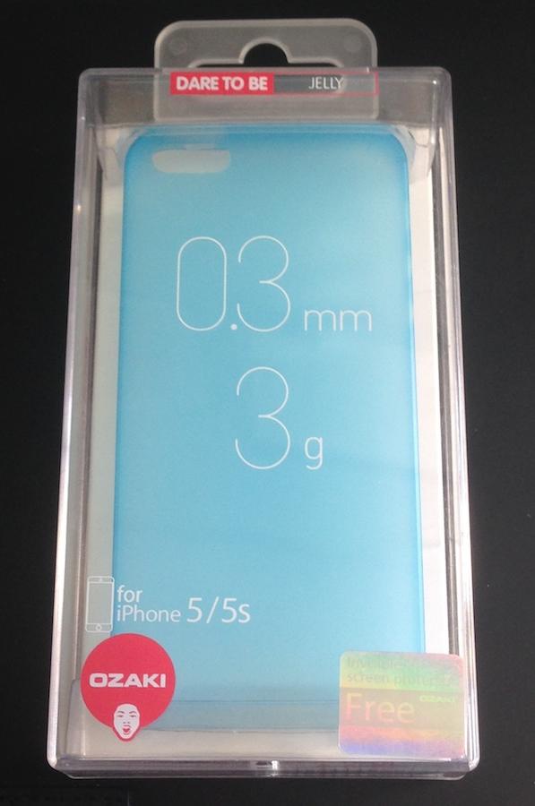 IMG 1809 0.3 di Ozaki: cover sottili e leggere per non rovivare il design di iPhone