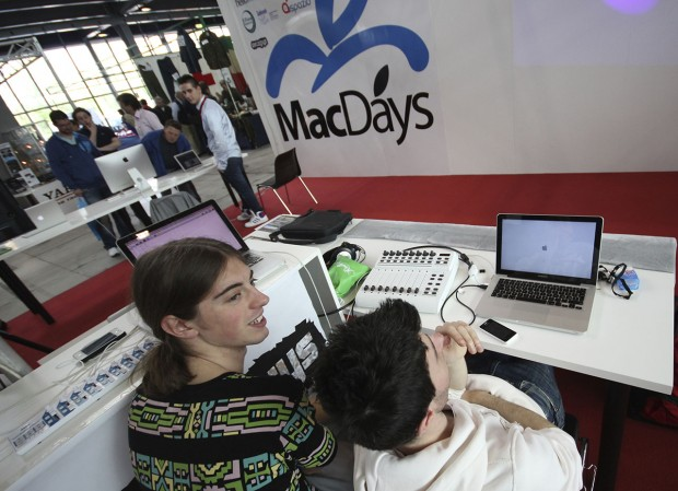 IMG 7096 620x449 Entertainment col Mac: worhshop e talk sul missaggio, gestione brani e live al MacDays 2014