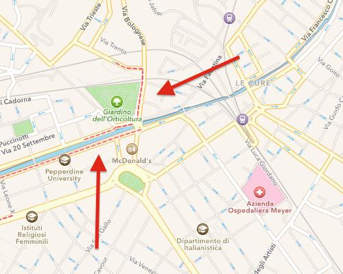Mappe di Mavericks 4 Mini tutorial: Mappe di Mavericks, scopriamo gli avvisi utili