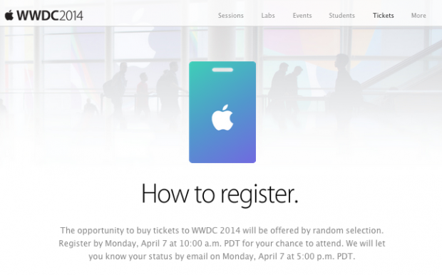 Schermata 2014 04 03 alle 16.02.55 620x386 Apple: 2 Giugno il via il WWDC (Worldwide Developers Conference) a San Francisco