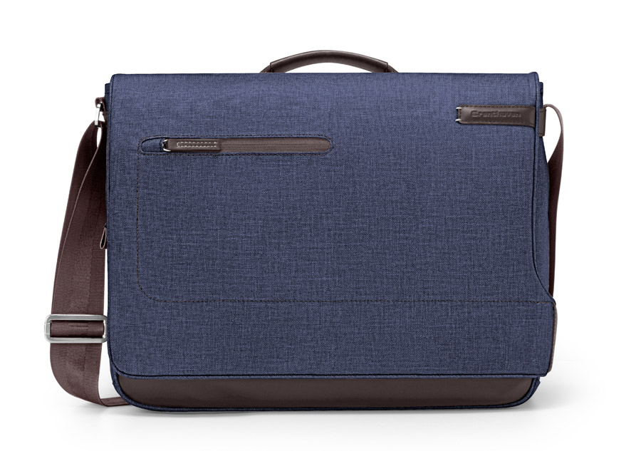 collins mb hero chambray w Collins Messenger Bag di Brenthaven: borsa porta Mac di alta qualità