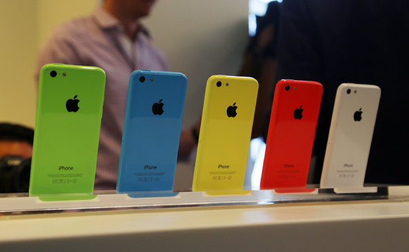 iphone5ccolors Apple: circa Il 62% dei possessori di iPhone 4S e 5 sono ex utenti Android
