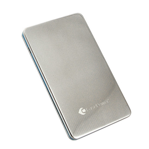 A55 silver large CasePower, energia in più per i nostri devices