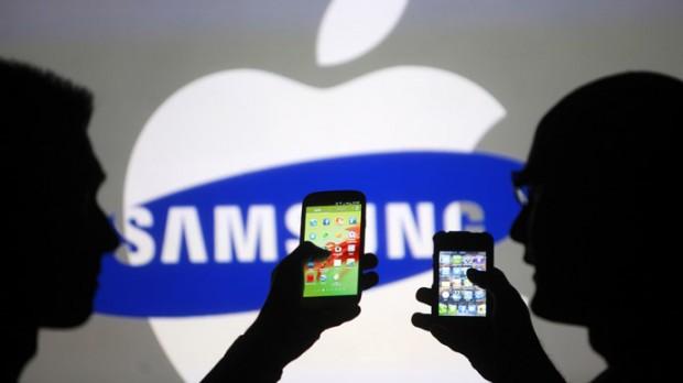 apple samsung  620x348 Apple: un risarcimento di 120 milioni di dollari da Samsung