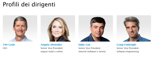 teamapple Apple: Angela Ahrendts, Retail and online Stores