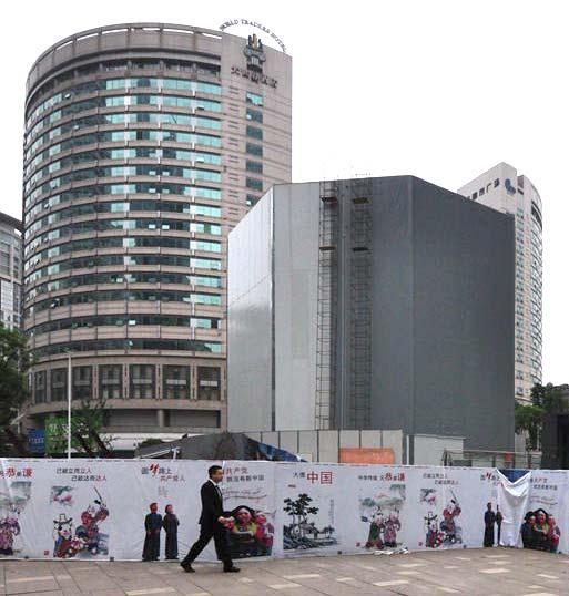 applestorecinavetro L'Apple Store di Chongqing, in Cina, avrà un ingresso interamente in vetro